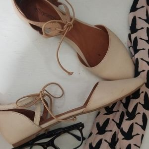 Jeffrey Campbell Shoes - Jeffrey Campbell Tie Up Flats size 7